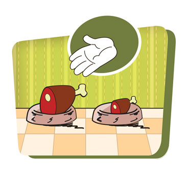 Критерий оценки по количеству мяса