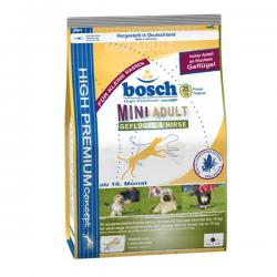 Старый дизайн упаковки корма Bosch Mini Adult Poultry & Millet