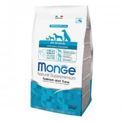 Корм для собак Monge Speciality Adult Dog Salmon & Tuna Hypoallergenic