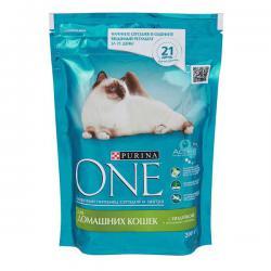 Корм Purina One для домашних кошек