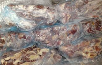 Мясо и его производные (15% свежей говядины)