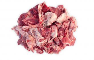 Мясо и мясные субпродукты (30% говядина, свинина, 10% домашняя птица)
