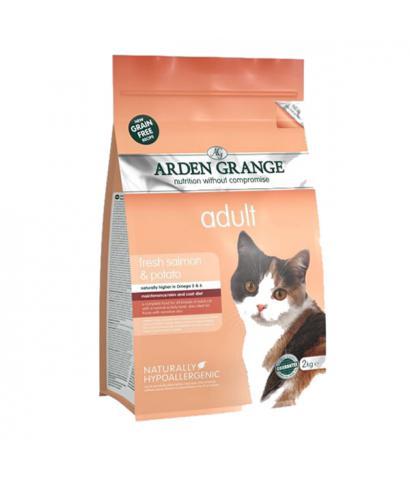 Arden Grange Adult Cat (GF) Salmon & Potato