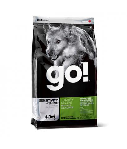 Go! Sensitivity+Shine Turkey Dog Recipe, Grain Free, Potato Free