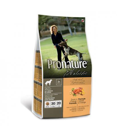 Pronature Holistic Adult All Breeds Grain-free Duck & Orange