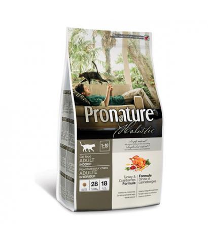 Pronature Holistic Cat Adult Indoor Turkey & Cranberries