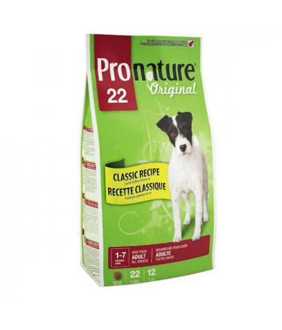 Pronature Original 22 Dog – Adult All Breeds Lamb & Rice