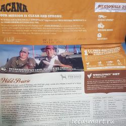 Acana Regionals Wild Prairie Dog Grain Free