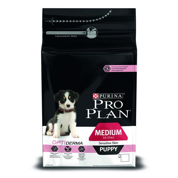Корм pro plan puppy medium