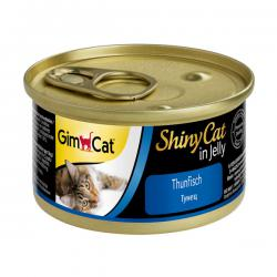 Корм для кошек GimCat ShinyCat Thunfisch in Jelly