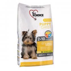 Корм для щенков 1st Choice Puppy Toy & Small Breeds