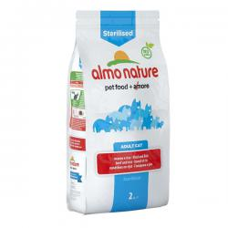 Корм Almo Nature Functional Adult Sterilised Beef and Rice