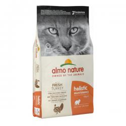 Корм для кошек Almo Nature Holistic Maintenance Adult Cat with Fresh Turkey