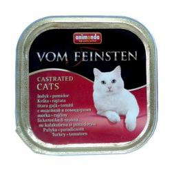 Корм для кошек Animonda Vom Feinsten Castrated Cats Turkey + Tomatoes