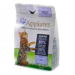Корм для кошек Applaws Adult Cat Chicken with Extra Duck Grain Free