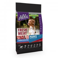 Корм для щенков «Авва» Fresh Meat Puppy Medium & Large Breed Lamb & Turkey Grain Free