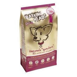 Корм Barking Heads Tiny Paw's «Quackers» Small Breed Grain Free Duck & Trout