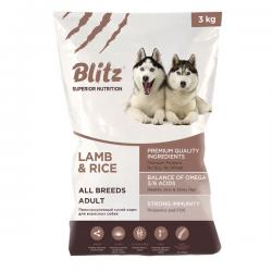 Корм Blitz Adult Dog Lamb & Rice