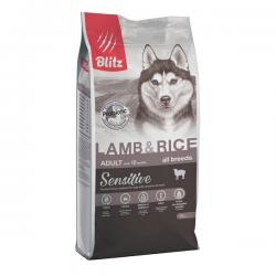 Корм для собак Blitz Adult Dog Sensitive Lamb & Rice