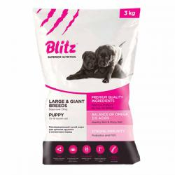 Корм Blitz Puppy Large & Giant Breeds
