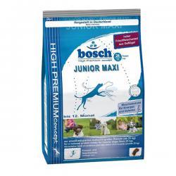 Старый дизайн упаковки корма Bosch Maxi Junior