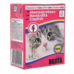 Корм для кошек Bozita Feline — Chunks in Jelly with Crayfish