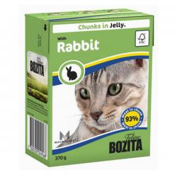 Корм для кошек Bozita Feline Rabbit – Chunks in Jelly