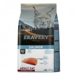 Корм для кошек Bravery Adult Cat Sterilized Salmon Grain Free