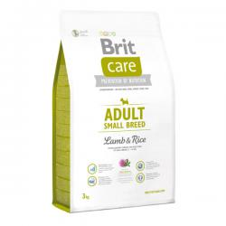 Корм для собак Brit Care Adult Dog Small Breed Lamb & Rice Hypoallergenic