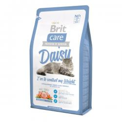 Корм для кошек Brit Care Cat Daisy I've to Control My Weight Turkey & Rice