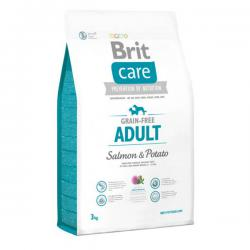 Корм Brit Care Grain-Free Adult Small & Medium Salmon & Potato