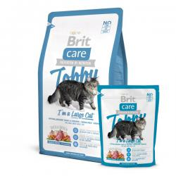 Корм для кошек Brit Care Tobby I'm a Large Cat — Duck & Chicken Grain-Free Hypoallergenic