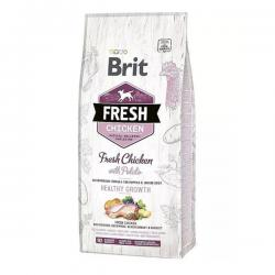 Корм для щенков Brit Fresh Puppy Healthy Growth — Fresh Chicken and Potato
