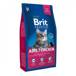 Корм для кошек Brit Premium Adult Cat Delicate Chicken & Chicken Liver