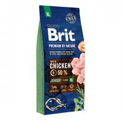 Корм для собак Brit Premium By Nature Junior XL Extra Large Breeds Chicken