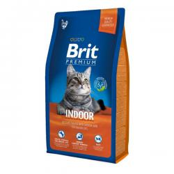 Корм для кошек Brit Premium Cat Indoor — Delicate Chicken with Chicken Liver