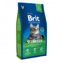 Корм Brit Premium Cat Sterilised