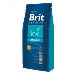 Корм Brit Premium Dog Lamb & Rice