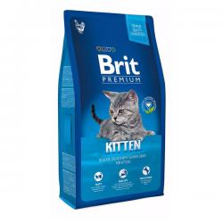 Корм для котят Brit Premium Kitten — Delicate Chicken with Salmon Gravy