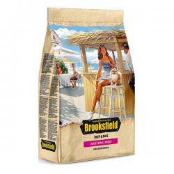 Корм для собак Brooksfield Adult Dog Small Breed Beef & Rice Low Grain