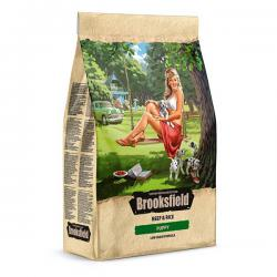 Корм для щенков Brooksfield Puppy Beef & Rice Low Grain