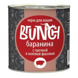 Корм Brunch «Баранина с гречкой и зелёной фасолью» для кошек
