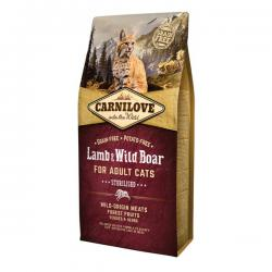 Корм для кошек Carnilove Adult Cat Sterilised Lamb & Wild Boar