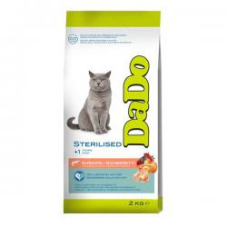 Корм для кошек DaDo Cat Sterilised Shrimps