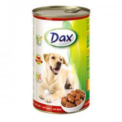 Корм для собак Dax — кусочки в соусе с говядиной