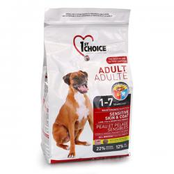 Корм для собак 1st Choice Dog Adult Sensitive Skin & Coat