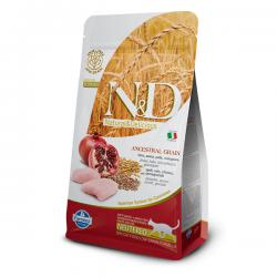 Корм для кошек Farmina Natural & Delicious Neutered Cat Spelt, Oats, Chicken & Pomegranate Low Grain