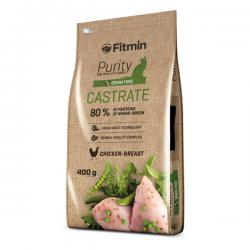 Корм для кошек Fitmin Purity Castrate Chicken Breast Grain Free