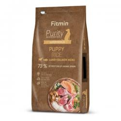 Корм для щенков Fitmin Purity Holistic Puppy Rice, Lamb & Salmon