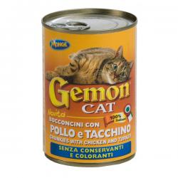 Корм Gemon Cat Chunkies with Chicken and Turkey